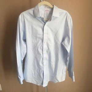 3/$30 Mens Brooks Brothers 16-4/5 Slim Fit Shirt